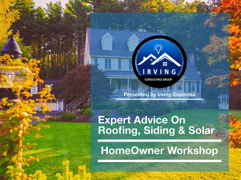 homeowner workshop ad